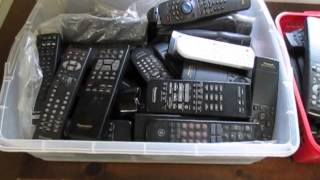Selling TV Television Stereo Cable Remote Controls On Ebay For More Money Instead Of Scrap