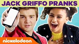 Jack Griffo's Air Horn & Gelatin Pranks 😜April Fool's Day w/ JoJo Siwa, Daniella Perkins & More!