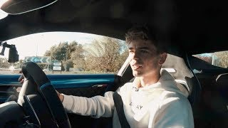 FIRST DRIVE IN MY NEW ALPINE A110