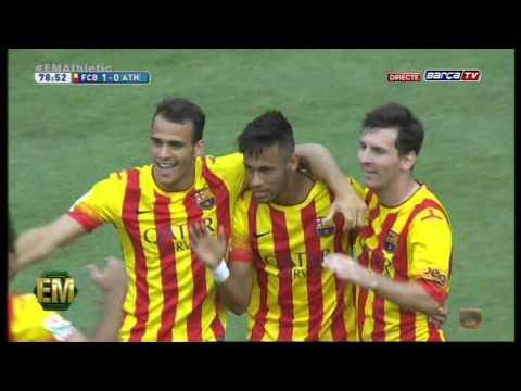 FC Barcelona vs Athletic de Bilbao [2-0][13-09-2014] BarçaTV