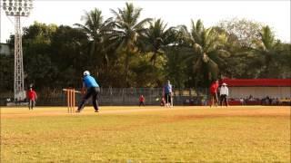 Cricket pull shot- Shahid Malek
