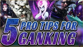 5 Pro Ganking Tips To Climb! (League of Legends Season 9)