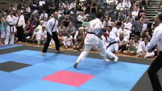 2011 GKR Australian Titles: FINAL of the Jnr Open Male Kumite