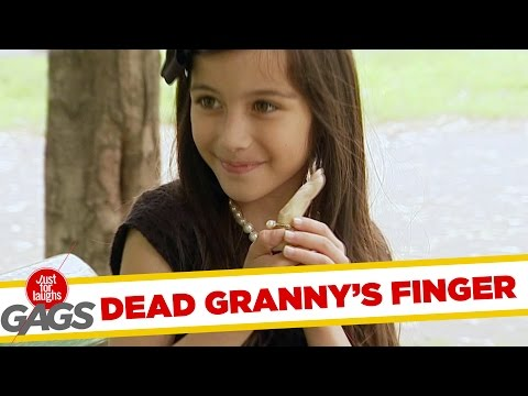 Kid Rips Ring Off Dead Granny