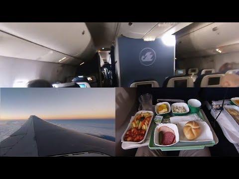 [GoProHero3] Uzbekistan Airways Boeing 767-300 FRA-TAS Economy [Flightreport]