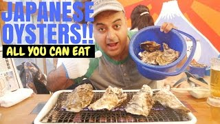 Japanese All-you-can-eat Oyster Restaurant!!