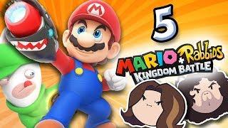 Mario + Rabbids Kingdom Battle: The Goings Get Tough - PART 5 - Game Grumps
