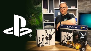 Death Stranding Limited Edition PS4 Pro unboxing