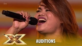 """Sephy Francisco: Filipino SHOCKS The Entire Stage With """"The Prayer""""   The X Factor UK 2018"""