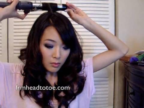 Japanese Style Curls Hair Curling Tutorial