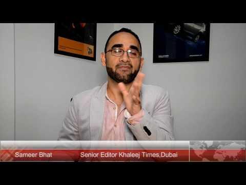 Words of Encouragement from Sameer Bhat ,Senior Editor, Khaleej Times ,Dubai.