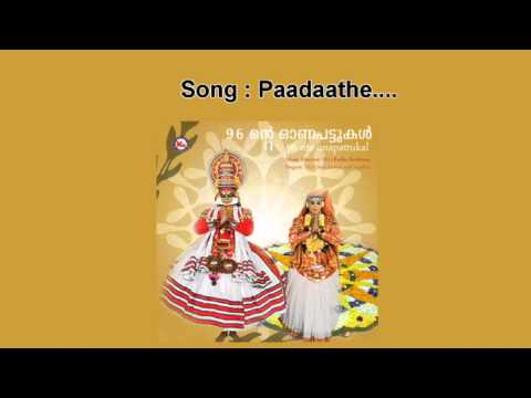 Paadathe - 96 Nte Onappattukal video