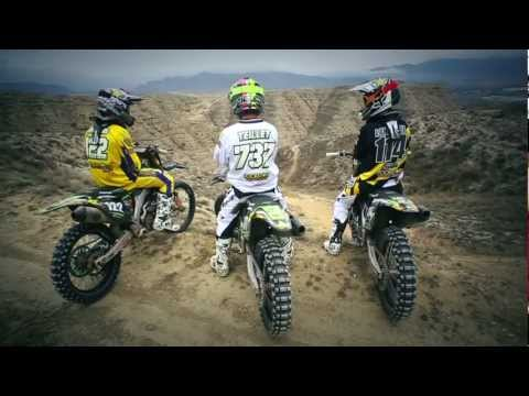 Team Rockstar  Bud Racing Kawasaki (2013 Official) video
