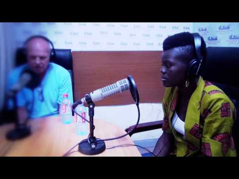 Wiyaala Supports IGNITE! Ghana project, interview @ XYZ radio 2013