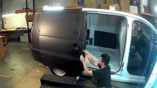 Black Matt - 2B Total Covering -  Car Wrapping - on Jumpy Citroën - Time Lapse
