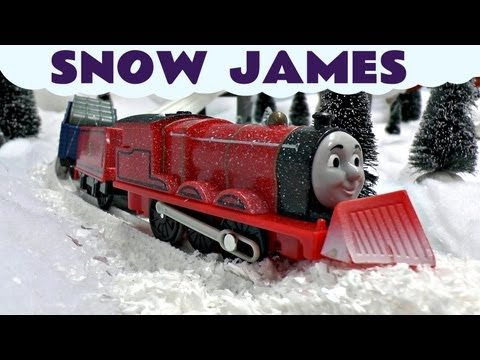 Thomas The Train Snow Clearing James Trackmaster Thomas & Friends Kids Toy Train Set