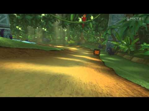 Mario Kart 8 - DK Jungle w/ swoozie06 and EdEMonster (Match 1)