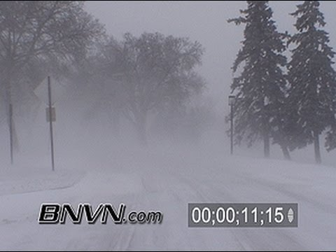 Various Winter Windy Stock Footage - Part 2