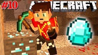 Minecraft Sinh Tồn #10 | ĐÀO KIM CƯƠNG VÀ CÁI KẾT THỐI LÒNG | KiA Phạm (w/ Vamy Trần)
