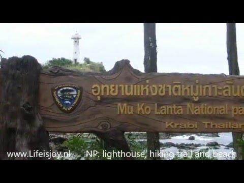 Krabi Thailand Ao Nang, roundtrip Koh Lanta, boattrips beaches sightseeing motorbike L