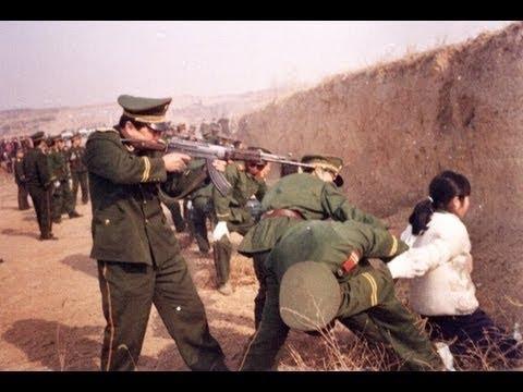 Án Tử Hình ở Trung Quốc video