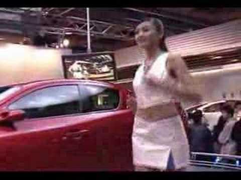 2004台北國際車展Mazda showgirls 洪小鈴