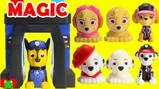 Paw Patrol Change Into Mission Pups in Chase Magical Pup House Ionix Jr