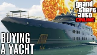 BUYING A YACHT, NEW GUNS AND MORE! | GTA 5 (GTA Online) w/ The Nobeds