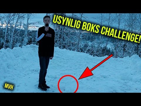Usynlig Boks Challenge!?!