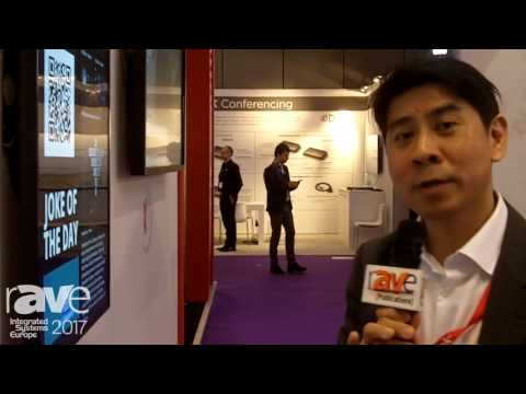 ISE 2017: ViewSonic Shows Off The CDM4300R Commercial Display