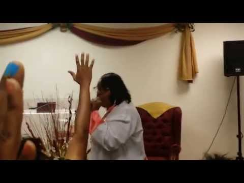 Apostle Thomas Prophetic Preaching. It's Time To Push
