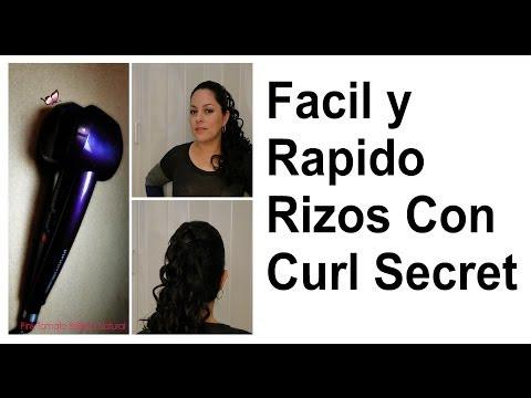 Facil y rapido rizos con Curl secret (REVIEW #CONAIRCURL)