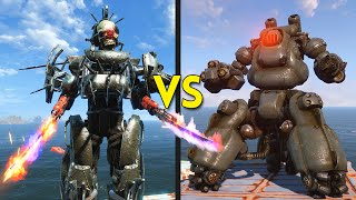Fallout 4 - 50 ASSAULTRON GORGONS vs 25 SENTRY BOTS - Battles #30