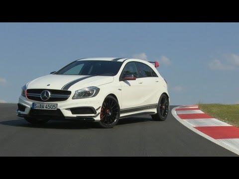 (PL) Mercedes-Benz A 45 AMG i CLA 45 AMG - pierwsza jazda