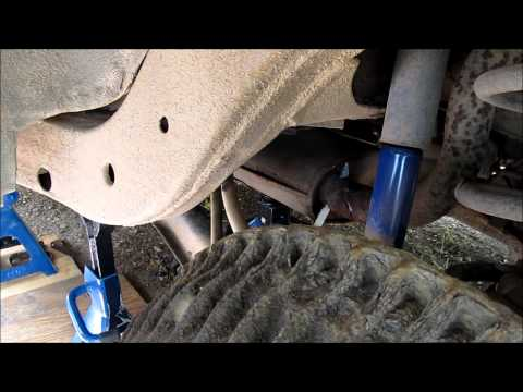 Muffler Replacement on a 1994 Chevy Caprice Station Wagon