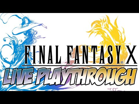 Final Fantasy X HD Live Playthrough 46: The Calm Lands
