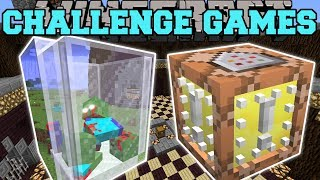 Minecraft: ZOMBIE JAR CHALLENGE GAMES - Lucky Block Mod - Modded Mini-Game
