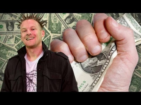 Magic with Dollars: How to Make A Bill Fold Itself!