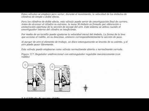 Ejercicios resueltos PAU Válvulas hidráulicas y neumáticas 2 de 2