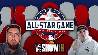 AL All-Stars vs. NL All-Stars! Koogs vs. Mighty Goat! MLB The Show 18 Diamond Dynasty