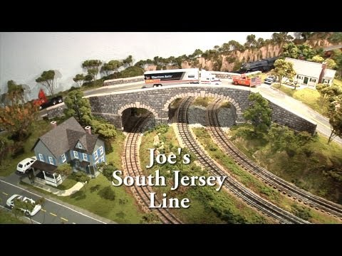 Joe's South Jersey Line Lionel Rail Transport Model Train Layout O Scale