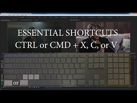 Adobe Premiere Pro 2017 Essential Keyboard Shortcuts, Tips, Tricks for Fast Editing