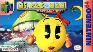 Longplay of Ms. Pac-Man Maze Madness