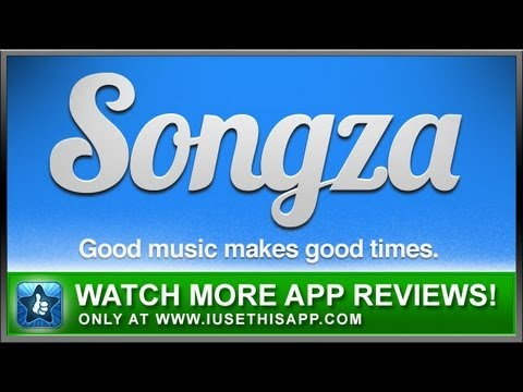 Songza -iPhone App - Best iPhone App - App Reviews