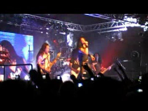 Dragonforce - Heroes of Our Time - Live @ Belfast Mandela Hall 11/10/08 [High Quality]
