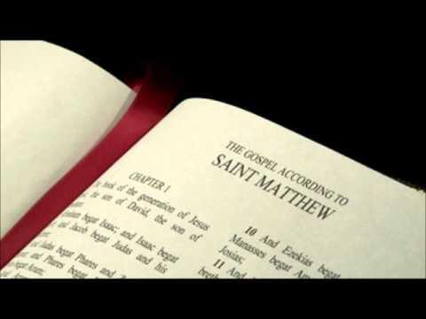 Bible Study - Matthew III & IV - 3rd Study  - 01.10.2013