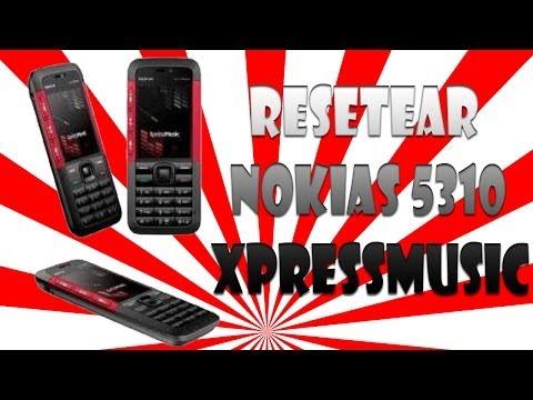Como Resetear un Celular Nokia 5310 XpressMusic