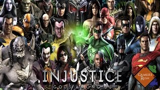 Reseña - Injustice: Gods among us!