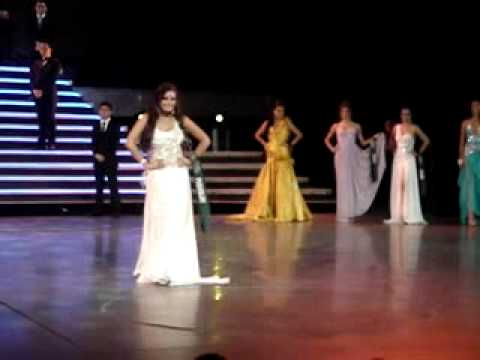 Miss Earth Paraguay 2009, Gabriela Rejala (Final Long Gown Competition)