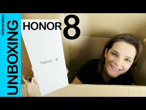 Honor 8 unboxing en español | 4K UHD